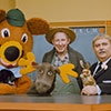 Looking Hollywood Way -- Captain Kangaroo